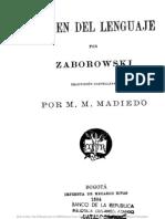 Origen Del Lenguaje Zaborowski