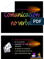 Comunicación-No-Verbal (Power Point)