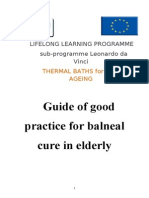 Balneal Guide for Elderly
