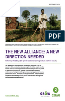 The New Alliance: A new direction needed. Reforming the G8's public–private partnership on agriculture and food security