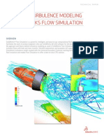 SWSIM-Enhanced Turbulence Modeling Flow