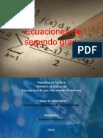 Ecuaciones de Segundo Grado-Jackelyne.pptx