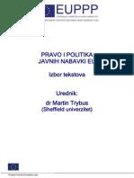 Pravo i politika javnih nabavki EU BIH HR SRB