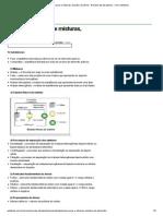 Substâncias puras e misturas, estrutura do átomo - Resumo das disciplinas - UOL Vestibular