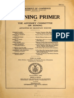 A Zoning Primer - U.S. Department of Commerce, 1926