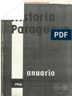 HISTORIA DEL PARAGUAY - ANUARIO - 1956 - PORTALGUARANI