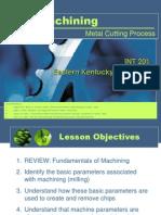 Metal Cutting Processes