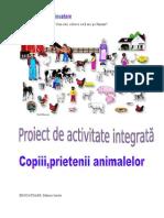Proiect animanle domestice-salbatice gradinita