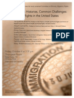 Harvard Ethnicity, Migration, Rights Panel, Friday, October 4, 2013, 3:30 pm
