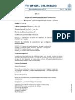 EOCB0208 labores auxiliares de albañileria de fabricas y cubiertas