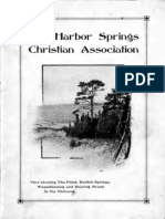 the Harbor Springs Christian Association Constitution and by-Laws