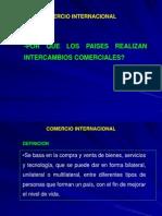 Comercio Internacional   clase introductoria a comercio internacional