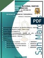 HPLC. Aplicaciones en compuestos orgánicos