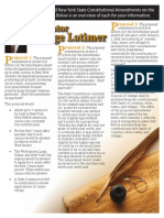 Latimer Constitutional Amendment Flyer