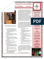 1st Quarter NCCS Newsletter, 2013