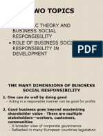 Business Social Responsibility 2004