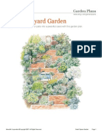 Shady Side Yard Garden