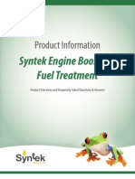 Fuel Treatment FAQs