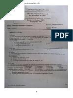 Examen de Passage 2009 V3