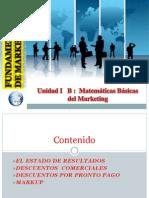 Unidad I B Matematicas Basicas Del Marketing PDF
