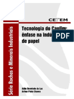 Tecnologia Do Caulim- CETEM