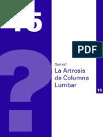 Artrosis Columna Lumbar