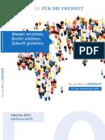 Broschüre 50 Jahre Internationale Politik in der FNF