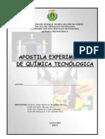 Apostila Experimental de Química Tecnológica 2013.2