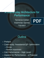 A Gameplay Architecture for Performance Clean
