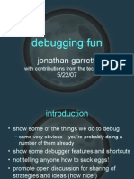 Debugging Fun