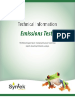 Emissions Packet