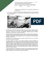 Historia Guia de Aprendizaje Segunda Guerra Mundial
