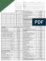 Pricelist 2012