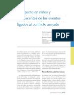 Ortiz Jerez - El impacto en niños y adolescentes de los eventos ligados al conflicto armado