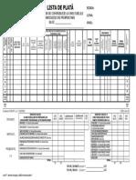 Model Lista de Plata