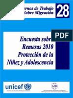 RESMESAS PTOTECCIÓN DE LA NIÑEZ Cuaderno de Trabajo No28