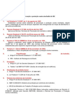 Roteiro da legislação de prevenção e proteção contra incêndio do RS
