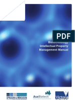 Biotechnology Intellectual Property Management Manual