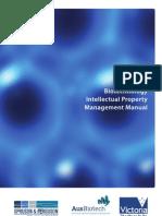 Biotechnology Intellectual Property Management Manual