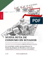 Nueva Ruta de Consumo en El Ecuador