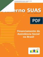 CADERNO SUAS v - Financiamento Da Assistencia Social No Brasil 2002-2010