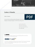 Lettre à Néméla