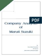 Maruti Suzuki Final