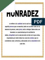 HONRADEZ