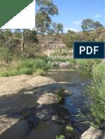 Merri Creek Parklands Plan 2013-34535353234234errw