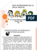 Factores Que Intervienen en La Salud Mental
