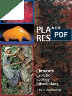 39499549 LANGENHEIM Plant Resins Chemistry Evolution Ecology A2