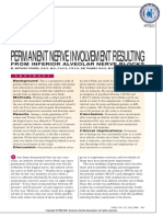 Permanent Nerve Involvement