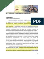 (Haesbert, Acselrad) Território, conflitos e gestão ambiental