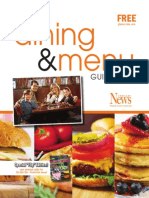 Dining and Menu 2013